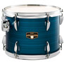 tama imperialstar 6pc complete kit w/ meinl hcs cymbals 22/10/12/14/16/14x5 - hairline blue