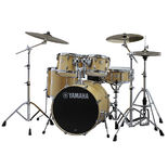"Yamaha Stage Custom Birch 5 Piece Drum Set with Hardware - 20"" Bass Drum Alternate Picture"