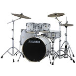 "Yamaha Stage Custom Birch 5 Piece Drum Set With Hardware - 22"" Bass Drum Alternate Picture"