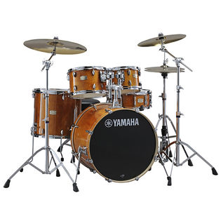 "yamaha stage custom birch 5 piece shell pack - 22"" bass drum"