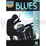 hal leonard drum play-along-blues vol. 16 (bk/cd)