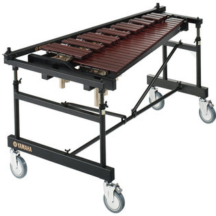 yamaha 3.5 octave acoustalon xylophone with cover and multi-frame ii