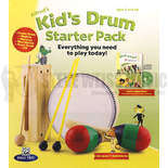 alfred's kid's drum starter pack (includes book/cd/instruments)