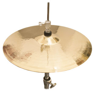 "weiss 14"" traditional cast hi-hat cymbals"