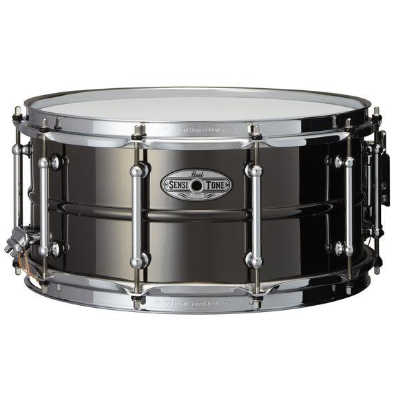 pearl sensitone 6 5 x14 beaded brass snare drum metal snare drums snare drums steve weiss. Black Bedroom Furniture Sets. Home Design Ideas