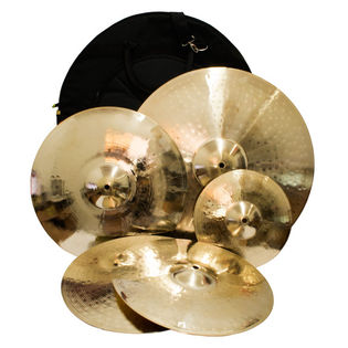 weiss traditional cast cymbal pack 1 with free splash & bag