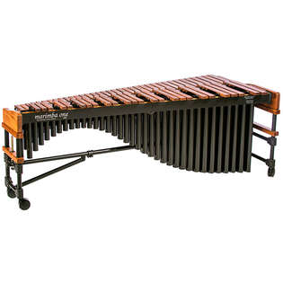 marimba one 5.0 octave 3100 series marimba with traditional keyboard and basso bravo resonators