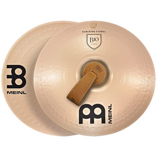 "meinl 16"" marching b10 cymbal pair (used demo)"