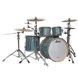 "ludwig signet terabeat  4 piece shell pack with 22"" bass drum"