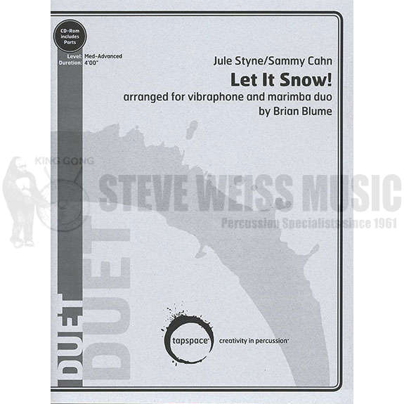 Let It Snow by Jule Styne and Sammy Cahn arr. Brian Blume | Duet ...