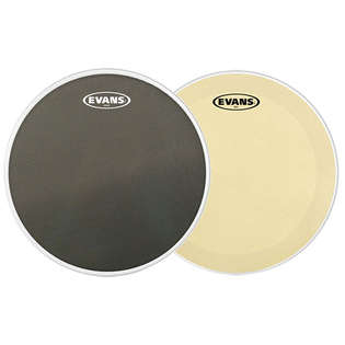 "evans 14"" marching snare drum head pack"