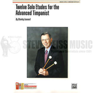 leonard-twelve solo etudes for the advanced timpanist