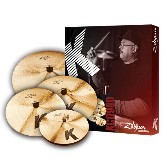 zildjian k custom dark box set cymbal packs and cymbal sets cymbals gongs steve weiss music. Black Bedroom Furniture Sets. Home Design Ideas