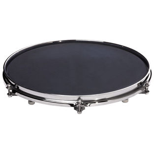 "sabian quiet tone 14"" mesh drum mute and practice pad"