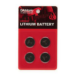 planet waves cr2032 lithium battery - 4 pack