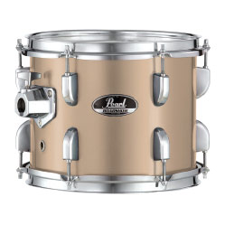bronze metallic pearl roadshow 5 piece drum set