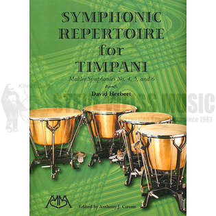 herbert-symphonic repertoire for timpani: mahler symphonies no. 4, 5 and 6