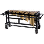 tama 3.0 octave vibraphone with motor - gold bars & field cart