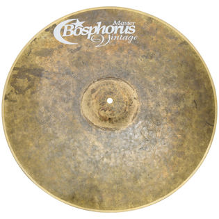 "bosphorus 22"" master vintage series ride cymbal"