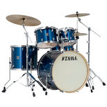 "tama superstar 5 piece shell pack with 22"" bass drum"
