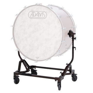 "adams 28"" bdv tilting direct mount concert bass drum stand"