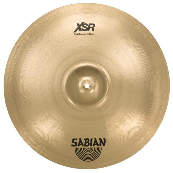 sabian 20 xsr fast crash cymbal crash cymbals steve weiss music. Black Bedroom Furniture Sets. Home Design Ideas