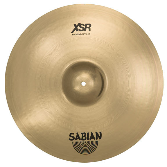 sabian 20 xsr rock ride cymbal ride cymbals steve weiss music. Black Bedroom Furniture Sets. Home Design Ideas