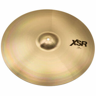 "sabian 21"" xsr ride cymbal brilliant finish"