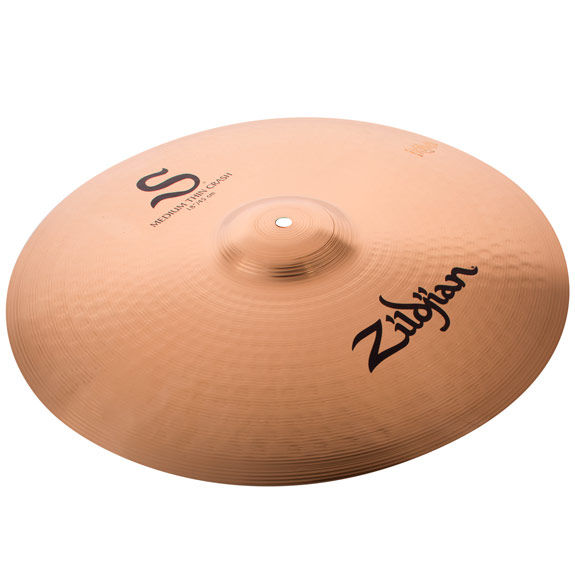 zildjian 18 s series medium thin crash cymbal crash cymbals cymbals gongs steve weiss music. Black Bedroom Furniture Sets. Home Design Ideas