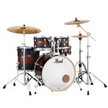 "pearl decade maple 5 piece shell pack with 22"" bass drum"