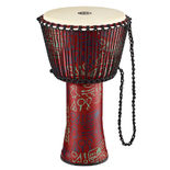 "meinl 14"" rope tuned travel series djembe - goat skin head"