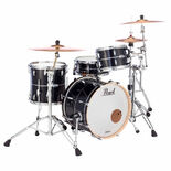 "pearl mct masters maple complete 3-piece shell pack with 20"" bass drum"