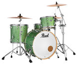 "pearl mct masters maple complete 3-piece shell pack with 22"" bass drum"