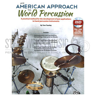 teasley-an american approach to world percussion(book/dvd)