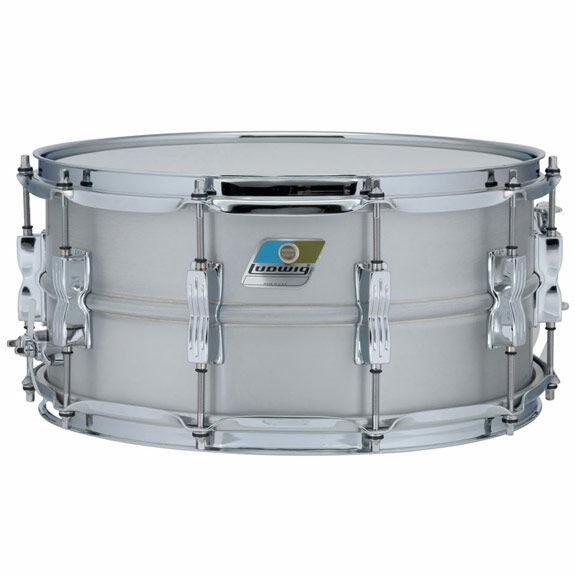 ludwig aluminum acrolite snare drum metal snare drums snare drums steve weiss music. Black Bedroom Furniture Sets. Home Design Ideas
