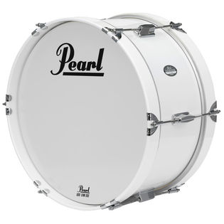 pearl junior marching bass drum with carrier
