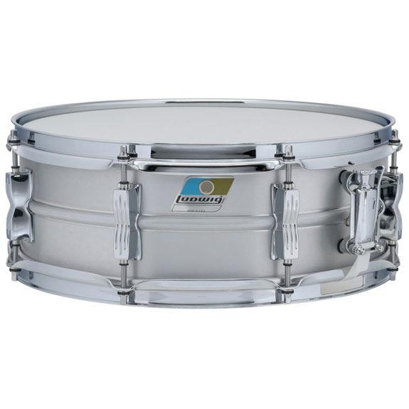 ludwig aluminum acrolite classic snare drum 14x5 metal snare drums snare drums steve. Black Bedroom Furniture Sets. Home Design Ideas