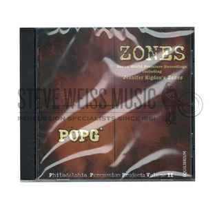 philadelphia percussion project-zones (cd)