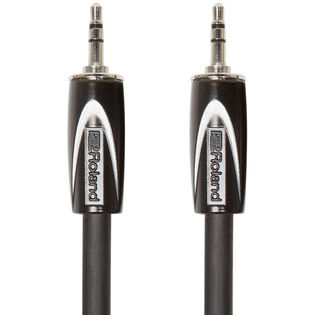 "roland black series interconnect cable - 1/8"" - 1/8"" trs - 5ft"