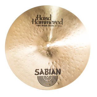"sabian 14"" hh dark hi-hat cymbals (used demo)"