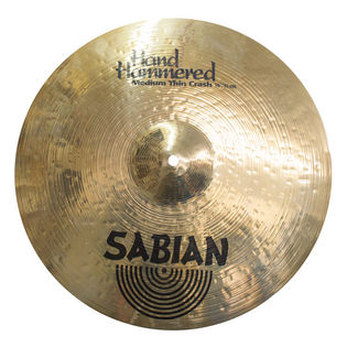 "sabian 16"" hh medium thin crash - brilliant (used demo)"
