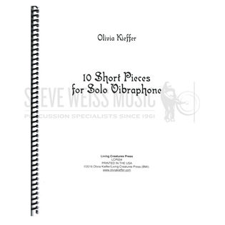 kieffer-10 short pieces for solo vibraphone-v
