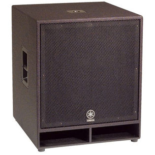 "yamaha cw118v 18"" club concert series subwoofer speaker"