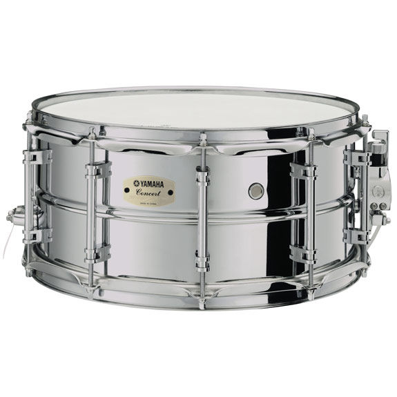 Yamaha css a concert steel snare drum 14x6 5 yamaha for Yamaha stage custom steel snare drum 14x6 5