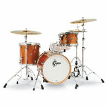 "Gretsch Catalina Club Jazz 3 Piece Shell Pack - 18"" Bass Drum Alternate Picture"