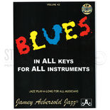 aebersold-blues in all keys (cd)