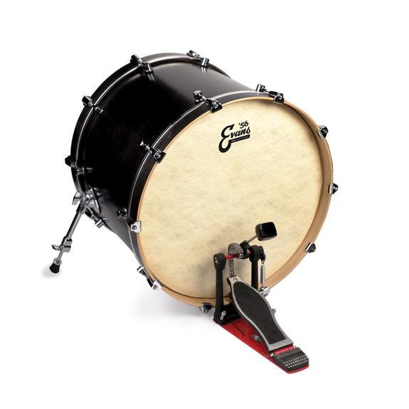 evans eq4 batter calftone bass drum head bass drum heads steve weiss music. Black Bedroom Furniture Sets. Home Design Ideas