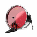 Evans Hydraulic Red Bass Drum Head Alternate Picture