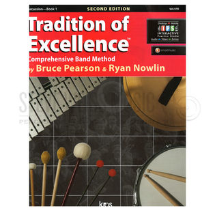 pearson/nowlin-tradition of excellence book 1: percussion