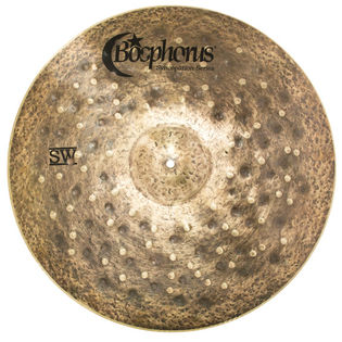 "bosphorus 22"" syncopation series sand washed ride cymbal"
